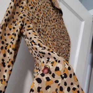 Zara Tops - Zara Pajama Style Printed Blouse size S